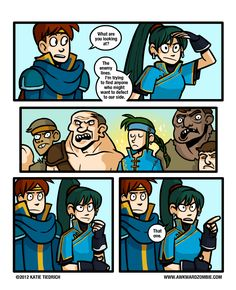 Hahaha! Fire Emblem. :) So good. Too bad you have to get Matthew to talk to Guy.