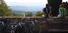 Travel to Tuscany for an active biking adventure! A picnic overlooking the hills of Chianti is the perfect end to a day of cycling.