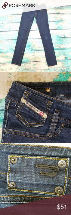 "DIESEL Matic Skinny Jeans W25 🔥Like new🔥DIESEL Matic Skinny Jeans. Dark wash 00AAS stretch Waist: 14"" laying glat Inseam: 31 Rise: 7 Diesel Jeans"