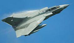 British vortexes. RAF Tornado GR4