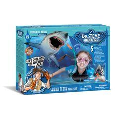 Geoworld Dr. Steve Hunters Shark Teeth Paleo Lab