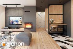Dom w jaskierkach Tv Unit, Living Room Kitchen, Divider, Furniture, Home Decor, Projects, Decoration Home, Room Decor