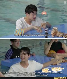 Confidence goals: Jin ------ YAS XD