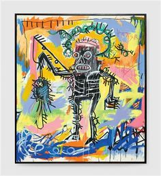 With a new record set last week for the work of Jean-Michel Basquiat, artnet News takes a look at the artist's most expensive works at auction to date.
