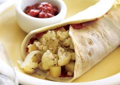Potato and Cauliflower Burritos | Vegetarian Times