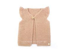 Chaleco de punto de bebé – Girly Vest –