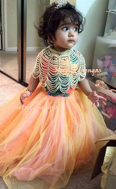 Baby Girl Dresses, Flower Girl Dresses, Kid Dresses, Baby Girls, Birthday Frocks, Zara Looks, Kids Gown, Baby Dress Patterns, Kids Frocks