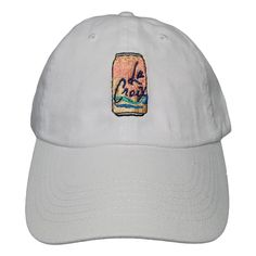Hat with custom embr