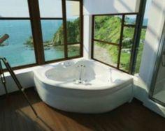 corner tub bathroom pictures | Corner Bath Tub Decorating Ideas | Direct Bathroom Remodeling Blog