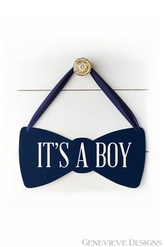 Its a Boy Bow Tie Baby Shower Decoration Sign, Hospital Door Hanger, Gift for New Mom, Baby Shower Gift for Boy Baby Shower Decorations For Boys, Baby Shower Gifts For Boys, Boy Baby Shower Themes, Baby Boy Shower, Baby Boy Announcement, Birth Announcements, Baby Name Reveal, Baby Delivery, Baby Boy Haircuts