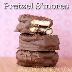 Pretzel #S'mores by Love From The Oven