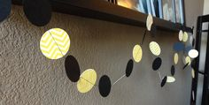 A personal favorite from my Etsy shop https://www.etsy.com/listing/226863048/mod-circle-garland