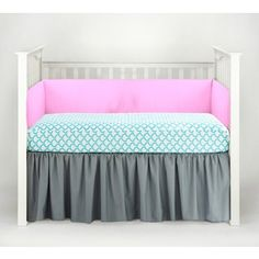 Shop for American Baby Company Aqua Waves 3-piece Crib Bedding Set. Get free delivery at Overstock.com - Your Online Baby Bedding Shop! Get 5% in rewards with Club O!