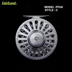 Fly Fishing Reel 3BB 3.5 Inch Large Arbor Design Aluminum Fly Fishing Reel