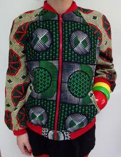 Blouson Veste Bomber Jacket par ChicaBongo sur Etsy, €125,00