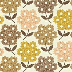 Harlequin Wallpaper Orla Kiely Rhododendron Collection 110414