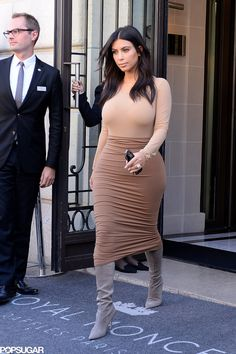 Kim Kardashian in Paris.