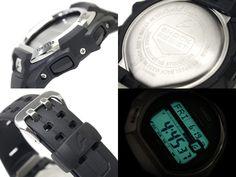 Multiple views of Casio GWM850-1CR Solar Atomic G Shock Watch