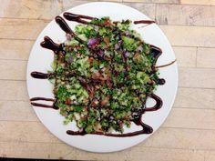 Healthy quinoa tabbouleh recipe from The Cove kitchen.  You will love this!  #Vegan