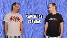 Experimentos Caseros | Como Hacer Camisetas Personalizadas Remeras #tshirts #camisetas #logo