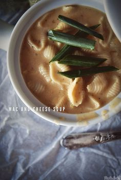 Mac and Cheese Soup Recipe