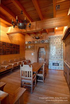 Pittsburgh, Pennsylvania - Ukrainian Classroom- Cathedral of Learning Nationality Room