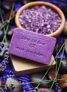 Amazing Lavender Soap   jebiga   #lavender #soap #violet #color #natural #product #design #jebiga