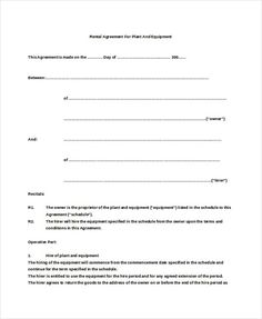 A Template Is Used For All International Agreements With The