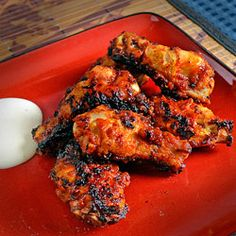 Chicken Wings With Bacon Chipotle Sauce