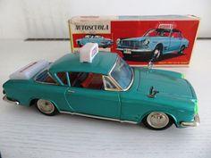 TIN TOY JAPAN CAR VINTAGE 1950 S ICHIKO  FIAT 2300S NO NOMURA YONEZAWA LINEMAR | eBay