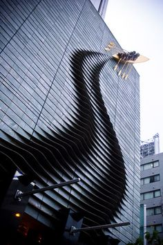 "Makes the building look much more interesting, ""SUPPORT STREET ART, IT MAKES LIFE INTERESTING"" #architecture - ☮k☮"