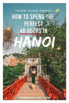 Thriving coffee scene, mystical temples, amazing local cuisine and the most charming old French colonial mansions. Here's how to spend the most perfect 48 hours in Hanoi! Asia travel guide - must things to do in Asia Vietnam Travel Guide, Asia Travel, Solo Travel, Travel Bag, Laos Travel, Passport Travel, Malaysia Travel, Time Travel, Travel Guides