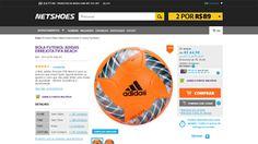 [Netshoes] Bola Futebol Adidas Errejota Fifa Beach - Unissex - 4056558156030 - de R$ 71,41 por R$ 64,90 (9% de desconto)