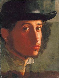 Hilaire Germaine Edgar Degas. (Self-Portrait)
