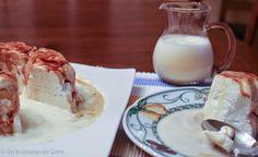 """Isla flotante y crema inglesa del blog En la cocina de Caro Cocineros del Mundo: Recetas Participantes en el Reto de Febrero 2015 """"Huevos o Cítricos"""""""