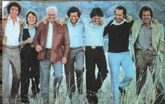 Jay, Jimmy, Father Osmond, Wayne, Donny, Virl, and Merrill.