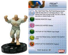 Freak #003 Invincible Iron Man Booster Set Marvel Heroclix - Invincible Iron Man Booster Set - Heroclix