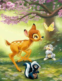Bambi, Flor e Tambor