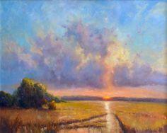 Hagan Fine Art Dee  Beard Dean Penny Creek Cloud Show II