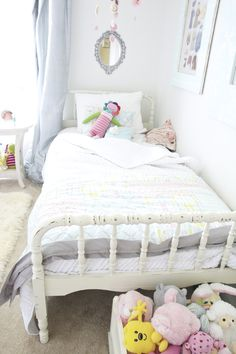 Addi needs a jenny lind twin bed for her big girl bed, anyone have one sitting around in their basement!?