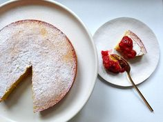 Flourless Almond & Coconut cake recipe:  Moist and nutty with a hint of coconut. #food52