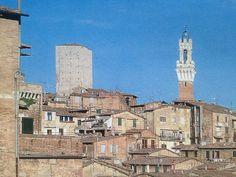 https://flic.kr/p/mwdMjP   Luigi Speranza -- Italia -- A view of the perfectly preserved medieval city of Siena, with the slender tower of La Mangia.   Luigi Speranza -- Italia