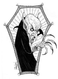 Count Orlok by KurtMAndersen.deviantart.com on @DeviantArt