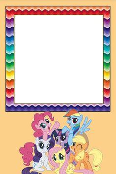 Imprimibles de My Little Pony. | Ideas y material gratis para fiestas y celebraciones Oh My Fiesta!