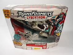 Transformers Cybertron - Vector Prime Collectible Action Figure