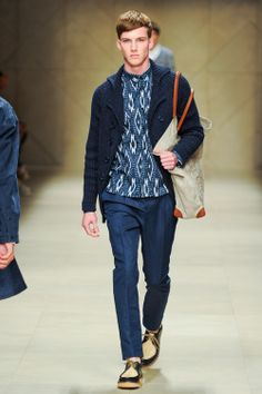 Burberry Prorsum, Spring 2012 Menswear, Christopher Bailey