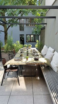 18 PERGOLE PER LA BELLA STAGIONE - Design Therapy Outdoor Rooms, Outdoor Dining, Outdoor Gardens, Outdoor Decor, Outdoor Patios, Outdoor Kitchens, Backyard Decks, Outdoor Cabana, Garden Furniture