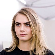 Her eyebrows  seriously they're life goals #cara