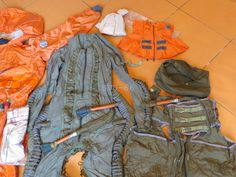 Russian Pilot Air Force High Altitude Anti-G Sealed Suit & Boots VMSK-4 Full Set in   eBay