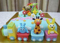 Jenn Cupcakes & Muffins: No.1 Baby TV Cake
